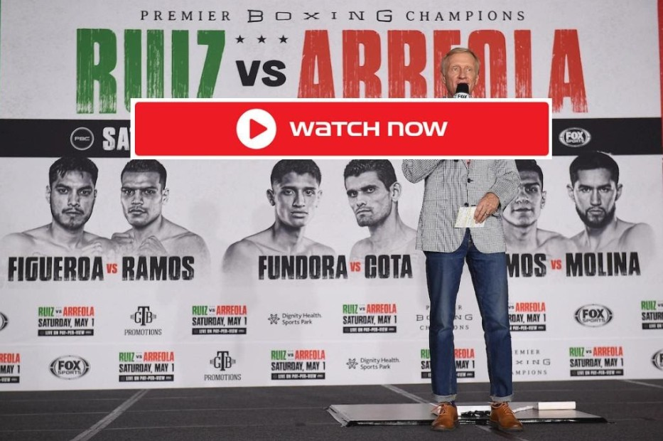 Ruiz Jr. is gearing up to face Arreola in the ring. Find out how to live stream the boxing match online for free.