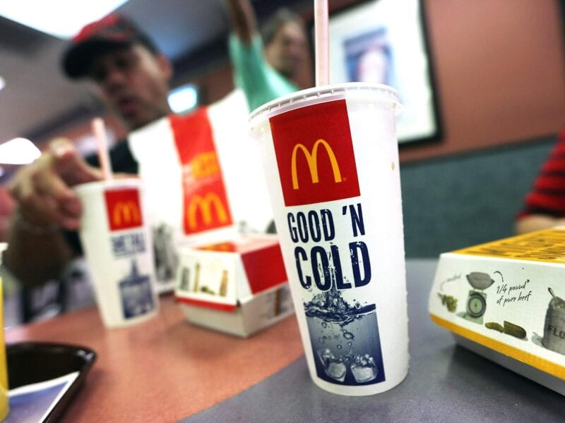 McDonald's went from a stand in the desert to a global empire. But no company is perfect. See what's going on with their Sprite drinks!