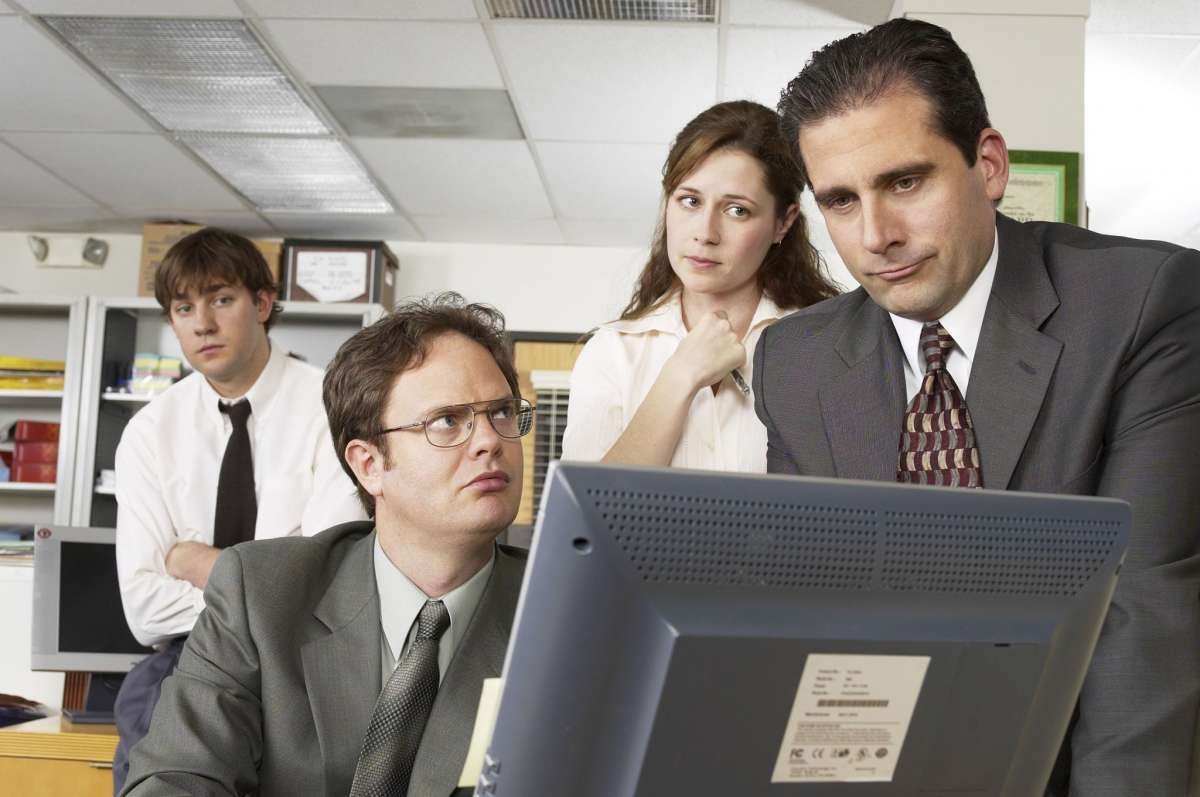 What's up with our obsession with bloopers? 'The Office' brings everyone together from all walks of life. Watch these hilarious bloopers now.