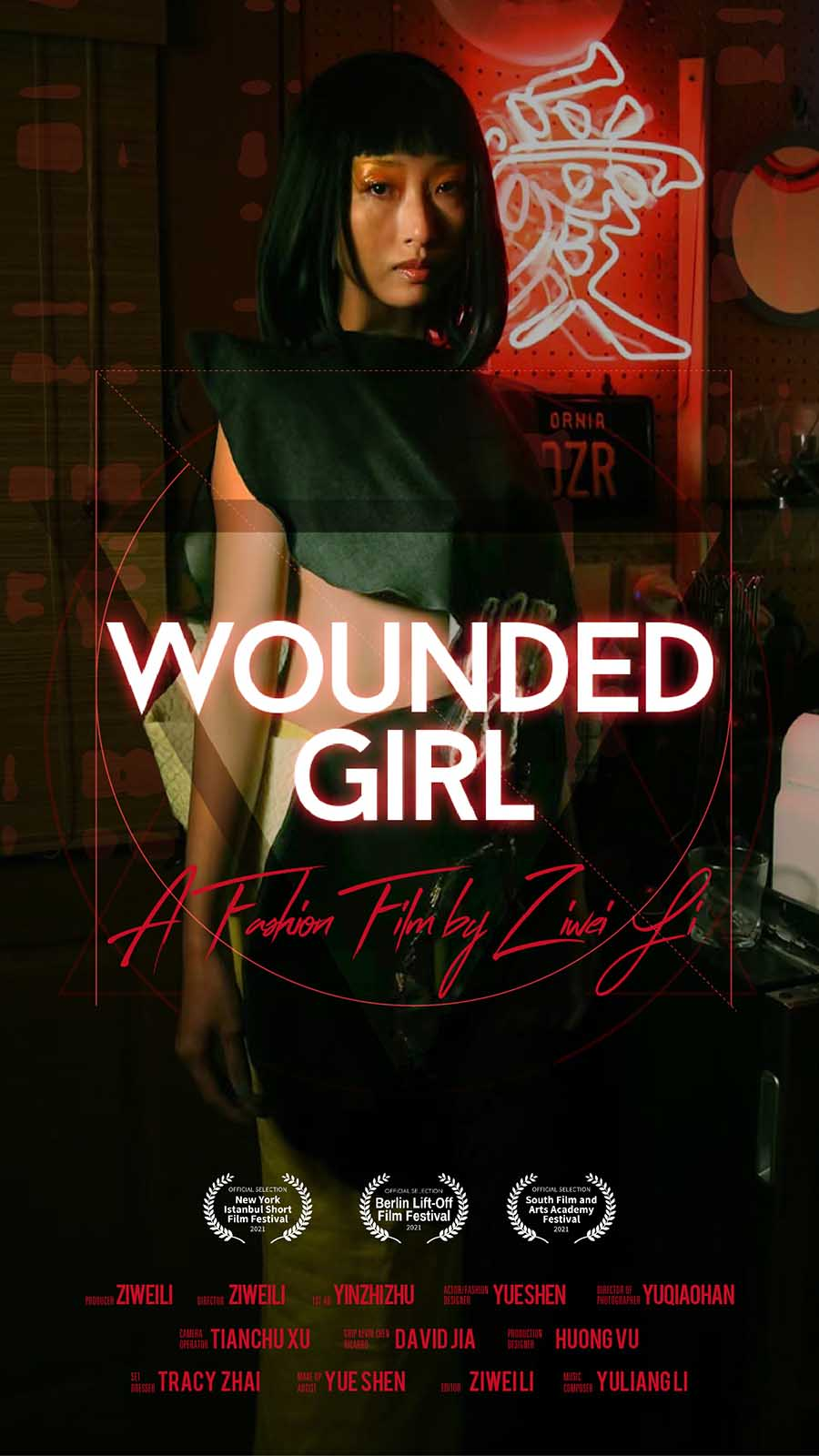 Betty is breaking out with a new fashion short film, 'Wounded Girl'. Discover the behind the scenes story of the new project.