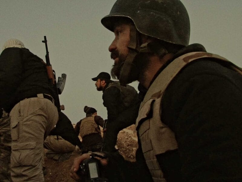 'You Are Not A Soldier' is an anti-war film at its heart. Get to know the directors trying to bring war photographer Andre Liohn's story to life.