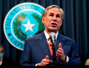 Texas Governor Greg Abbott is in hot water with Texans after vetoing a bill about dogs. Spy why Twitter's in an uproar and what the bill was about here.