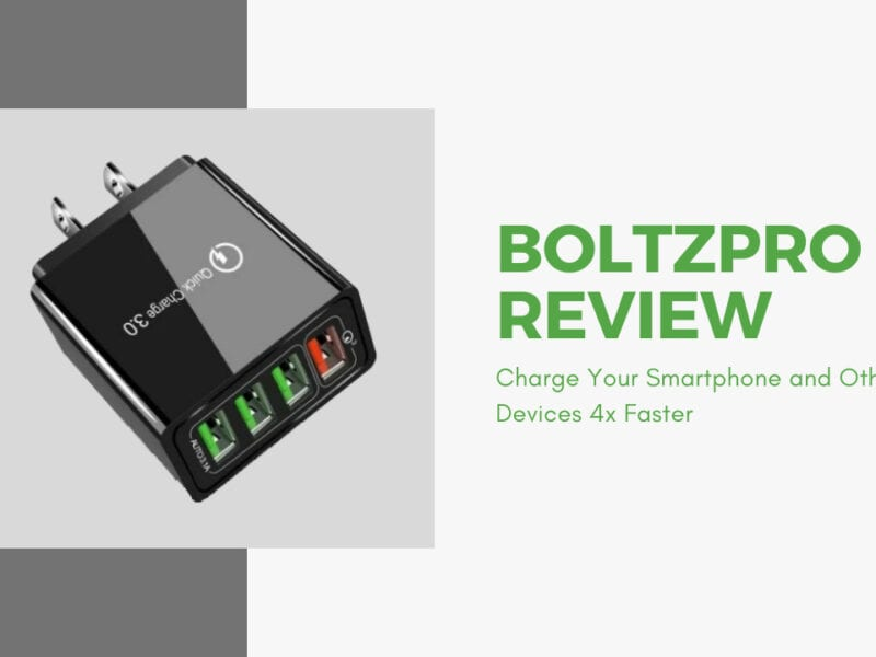 Need a way to charge your phone fast, but your charging appliance isn't working? Check out BoltzPro, and see what the hype is all about for yourself.