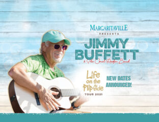 Calling all Parrot Heads! Jimmy Buffett is back on tour with the Coral Reefers! Snag your concert tickets to hear