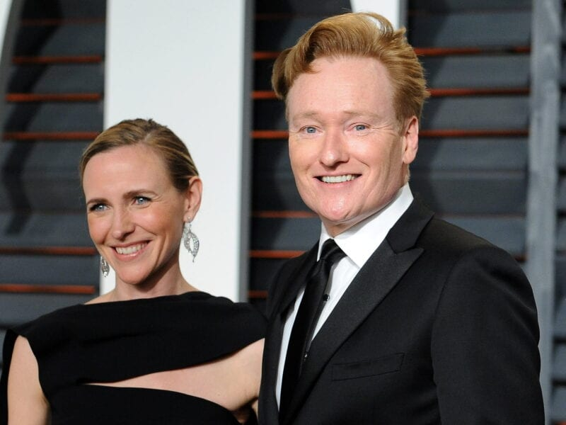Conan O'Brien isn't the first name that comes to mind when you think cute romance stories. It will be when you read about how he met his wife!