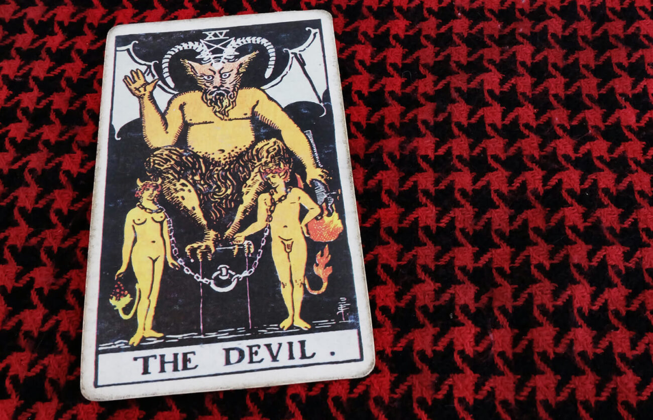 Are you getting to know your tarot deck for the first time? Learn more about scary-sounding cards like The Devil so you can be prepared if they come up!