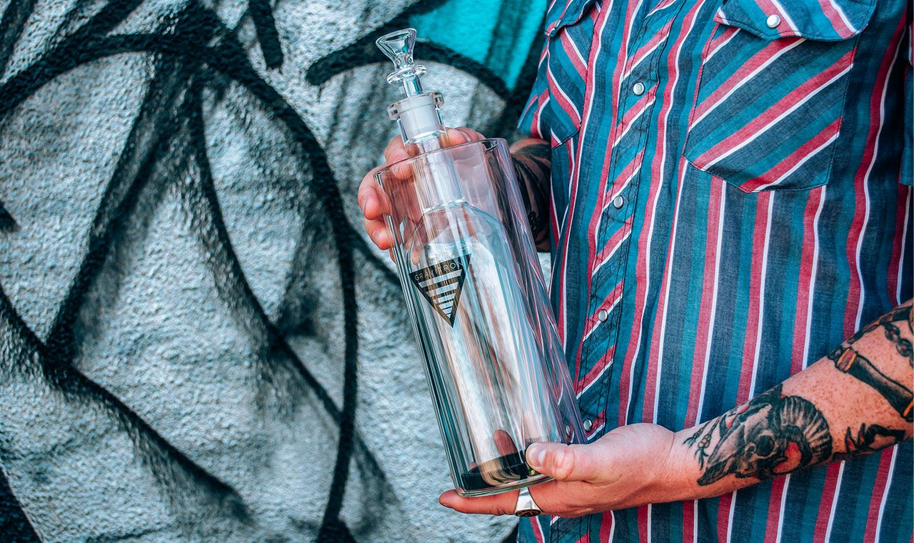 Learn about the homegrown roots of the old-school gravity bong, and how a new version can raise your smoking experience to new heights.
