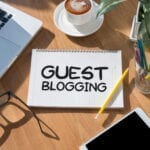 Looking for an effective way to grow traffic and keep it high? Try guest posting on related companies' blogs to improve your SEO and traffic to your site.