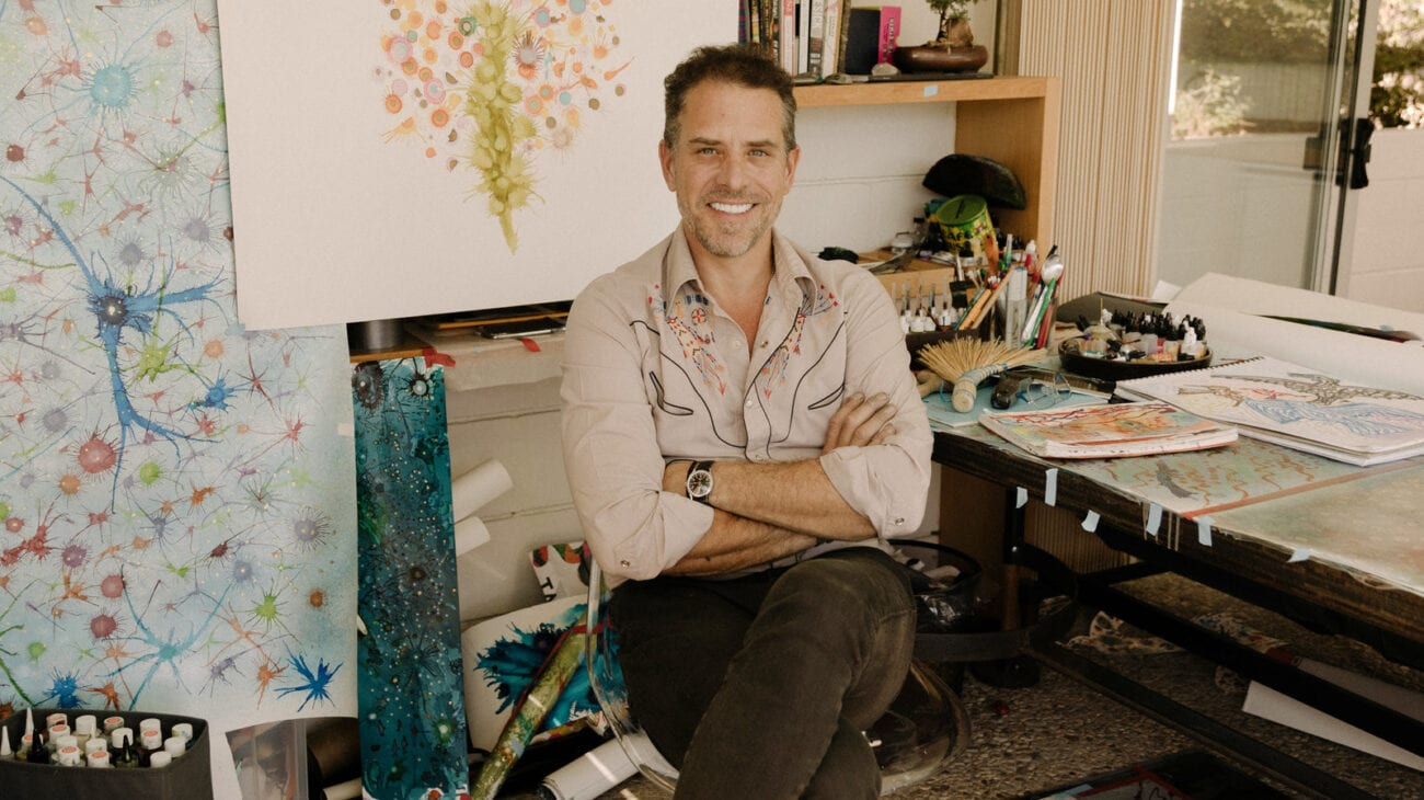 Meet the hottest new artist on the market now, Hunter Biden! Delve into how much his artwork goes for, and how much his creations will boost his net worth.