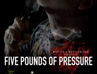 'Five Pounds of Pressure' is the new short by director Liam Petite. Learn more about the film and Petite here.