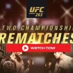 The UFC 263 Live Stream on reddit full fight Adesanya vs. Vettori 2 is all set to take place on Saturday night, June 12 at Gila River Arena.