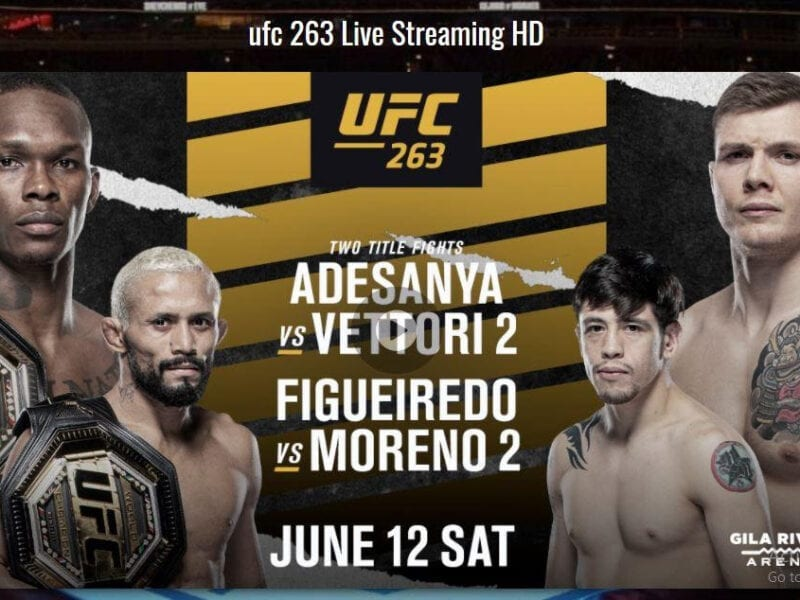 Need a place to live stream the big matchups this weekend? Look no further than your phone or computer! Stream UFC 263 from anywhere, any time!