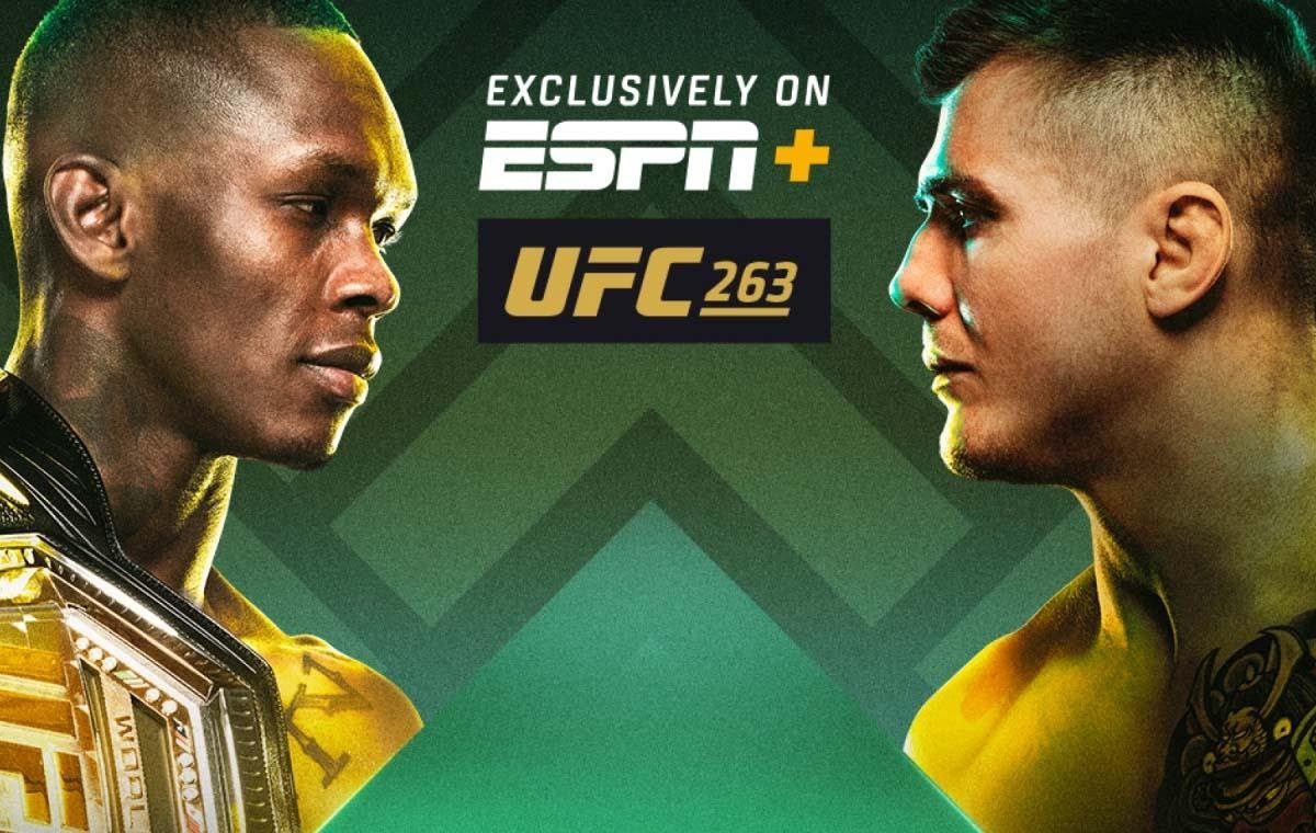 Get ready to rumble and watch the most exciting matches of the MMA season! Live stream UFC 263 from anywhere in the world, from any device now!