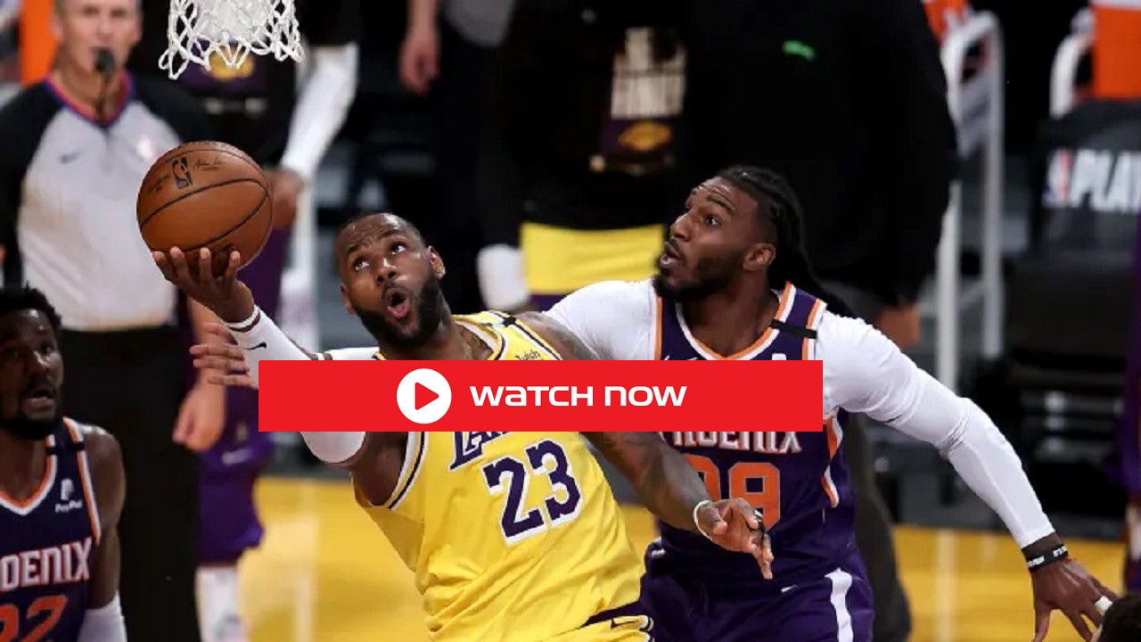 Don't miss today's Big 2021 NBA Playoffs 2021 Game 5,6,7 Lakers vs Suns Live Free Streaming NBA reddit Streams Online.