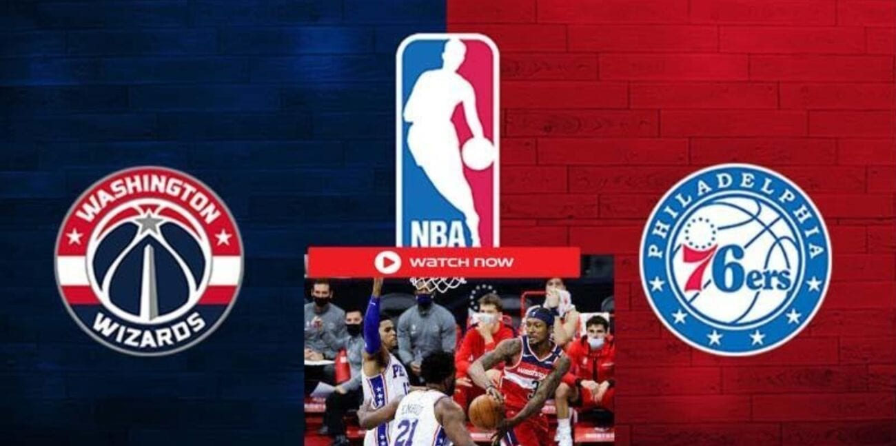 The 76ers are gearing up to face the Washington Wizards. Find out how to live stream the basketball match online for free.