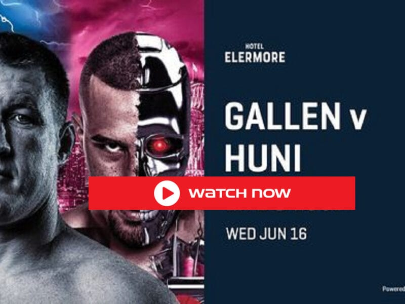 The Paul Gallen vs Hani Fight live match stream will take online place at the ICC Exhibition Center in Darling Harbor, Sydney.