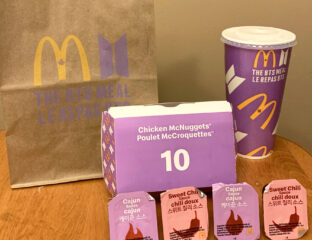 Chicken nuggets on a shoe? Only the BTS ARMY would do something this crazy. Have you ordered McDonald's signature BTS order yet?