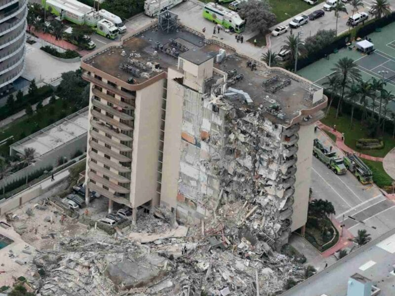 In a shocking tragedy, a part of a large condo building near Miami, Florida collapsed. What's happening and are there any survivors?