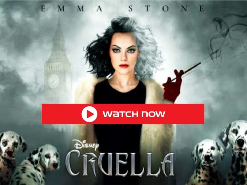 Cruella Full Movie Free is a 2021 American crime, Need download Online this comedy-drama film, Here full movie guide to watch.