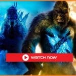 """The two giant monsters from Legendary Entertainment watch the 2021 free Godzilla vs. Kong full movie which is in the """"MonsterVerse""""."""