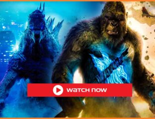The two giant monsters from Legendary Entertainment watch the 2021 free Godzilla vs. Kong full movie which is in the