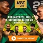 Get ready to rumble. Find out how to live stream the UFC 263 fight online and on Reddit for free.