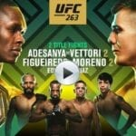 UFC is here and ready to thrill fans. Find out how to live stream the anticipated UFC 263 match online for free.