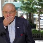 Rudy Giuliani has lost his license to practice law in New York state. Learn why he's sweating over this latest news.