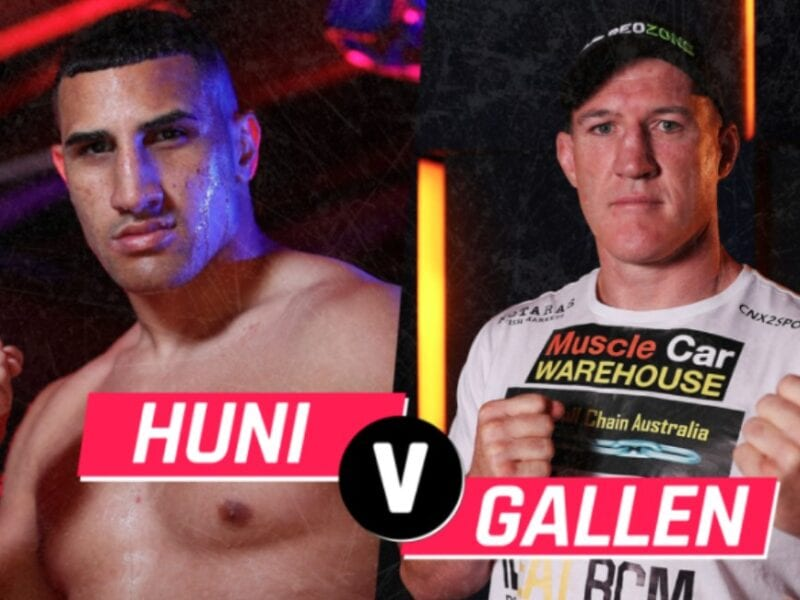 Gallen is gearing up to face Huni in the boxing ring. Find out how to live stream the anticipated match online for free.