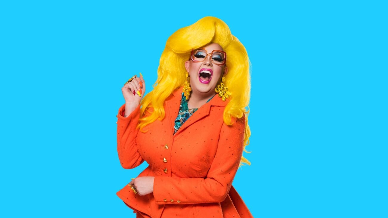 Drag queens tend to be exaggerated characters, but Karen from Finance is literally *a character*. Here's how she survived 'Drag Race Down Under'.