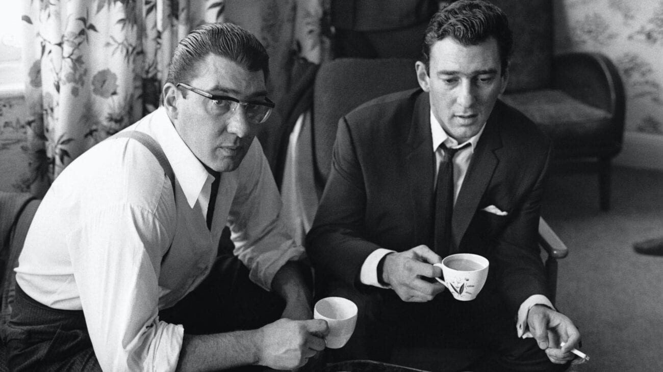 """The Kray twins were a pair of British gangsters who ran """"the Firm"""". Meet the gangsters who cause chaos in Britain during the 1960s."""