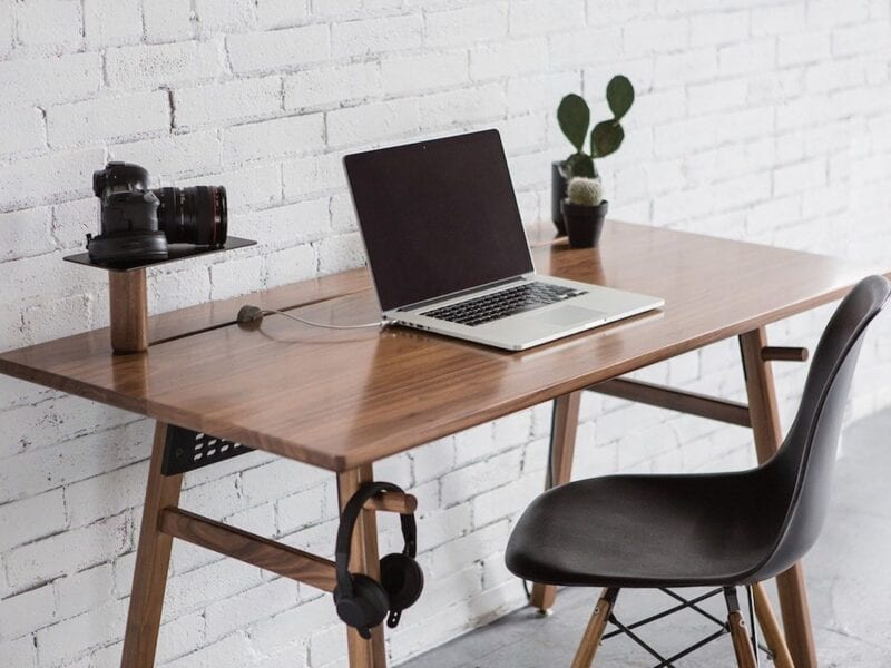 Working from a desk can impede one's health. Find out how to offset the desk work with these healthy tips.