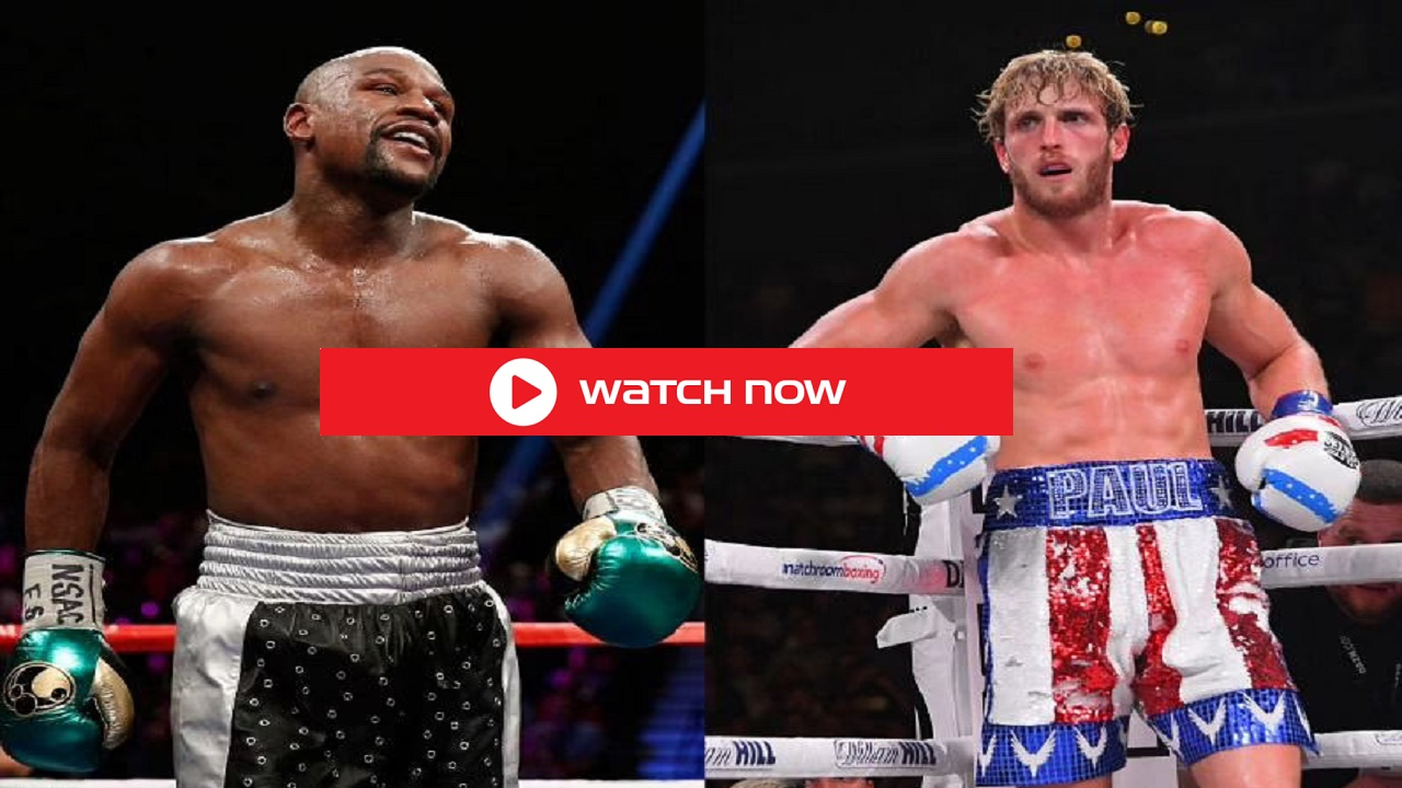 Floyd Mayweather's surreal bout with social media personality vs Logan Paul will be broadcast live tv streaming online free.