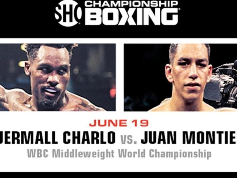 Fans in the US can also stream the boxing online. Charlo vs Montiel is also available on Showtime for free.