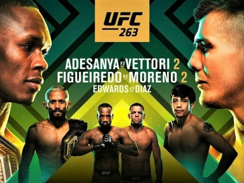 It's UFC time. Find out how to live stream the anticipated UFC 263 match online and on Reddit for free.