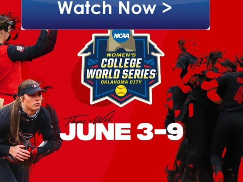It's softball time. Find out how to live stream the NCAA Women's College World Championship online for free.