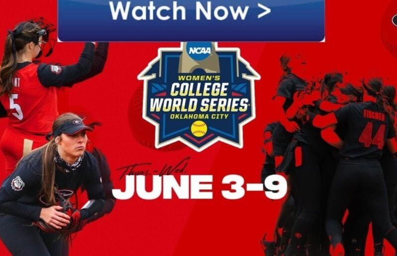 It's time for softball. Find out how to live stream the NCAA Women's College World Series online for free.