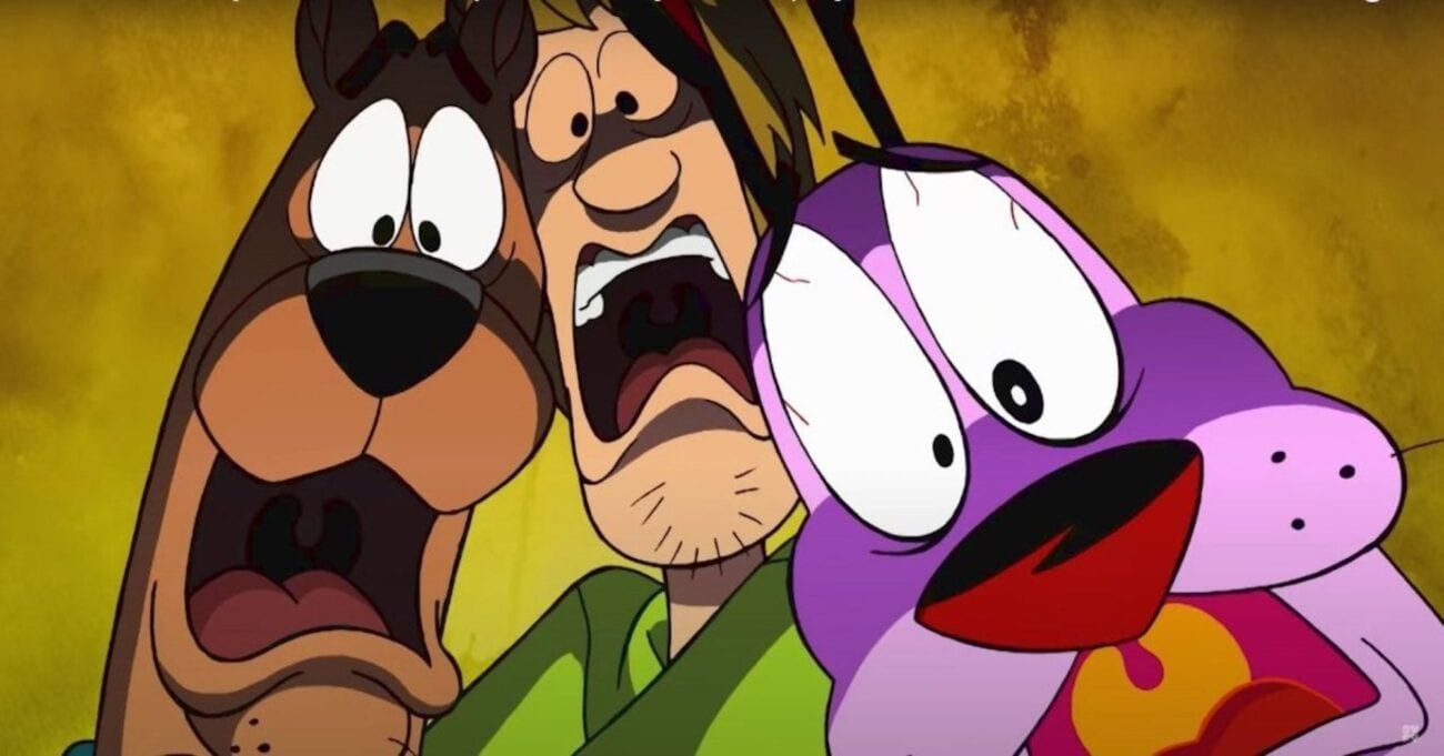 Scooby-Doo meets Courage the Cowardly Dog in the newest movie. See if these two lovable scaredy dogs can save the world (or Nowhere).