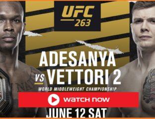 Adesanya vs Vettori 2: Watch Live stream free reddit MMA streams Free on Reddit Twitter UFC 263 with ESPN on Kayo.