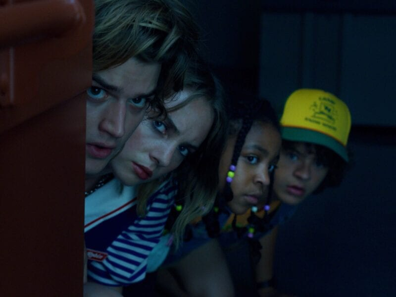 The new season of 'Stranger Things' has been in production began last year in October. Peek behind the scenes in these photos.