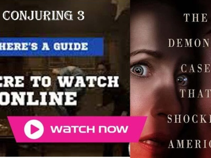The Conjuring 3 is finally here. Find out how to stream the anticipated sequel online for free.