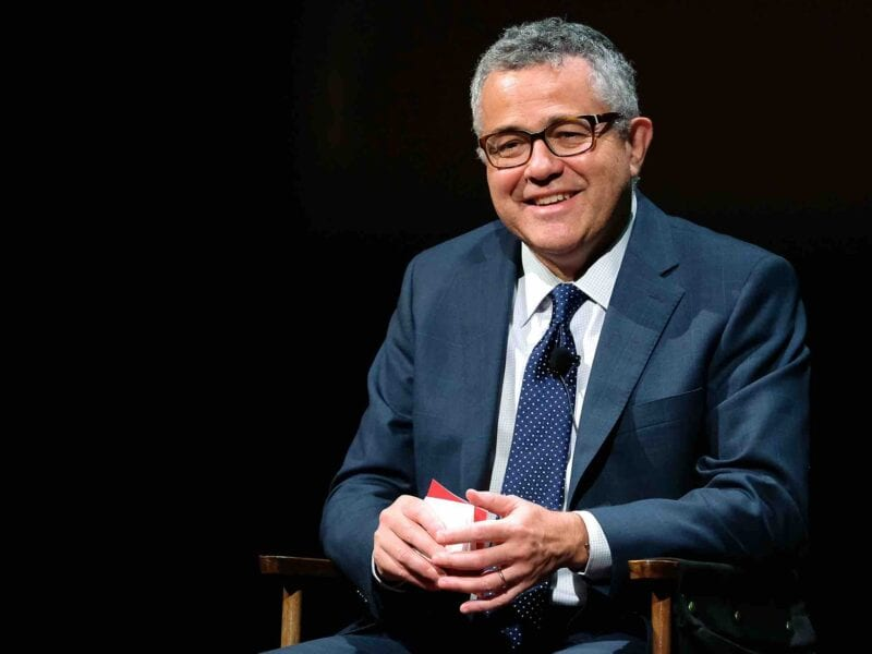 Jeffrey Toobin returns to television after his perverted incident on a Zoom call. Wonder why people are letting this happen.