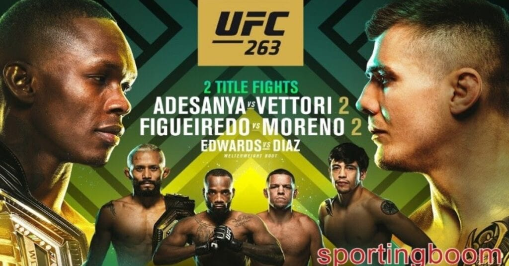 """(#UFCStreams!) Watch """"UFC 263"""" live streaming for free on Reddit – FilmyOne.com"""