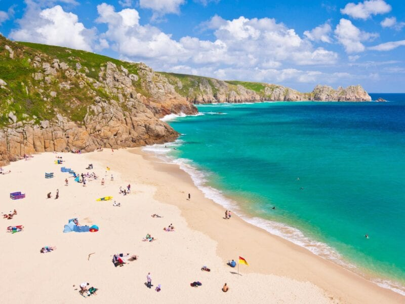 The weather's warming up and we're ready for a staycation in the sun. Check out the best UK beaches to visit this year.