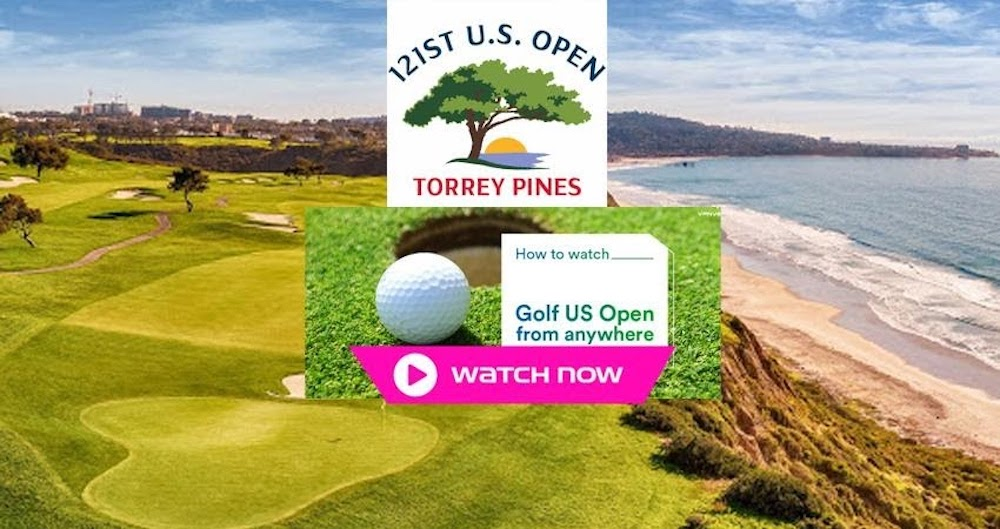 The opening round of the U.S. Open from Torrey Pines takes place on Thursday June 17. Watch the event via our live stream here.