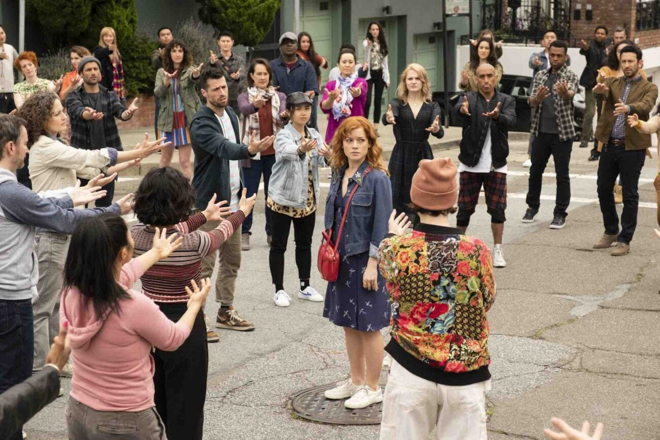 'Zoey's Extraordinary Playlist' has been cancelled by NBC. Was it lack of violence that led to its demise? Weigh in with series star with Jane Levy.