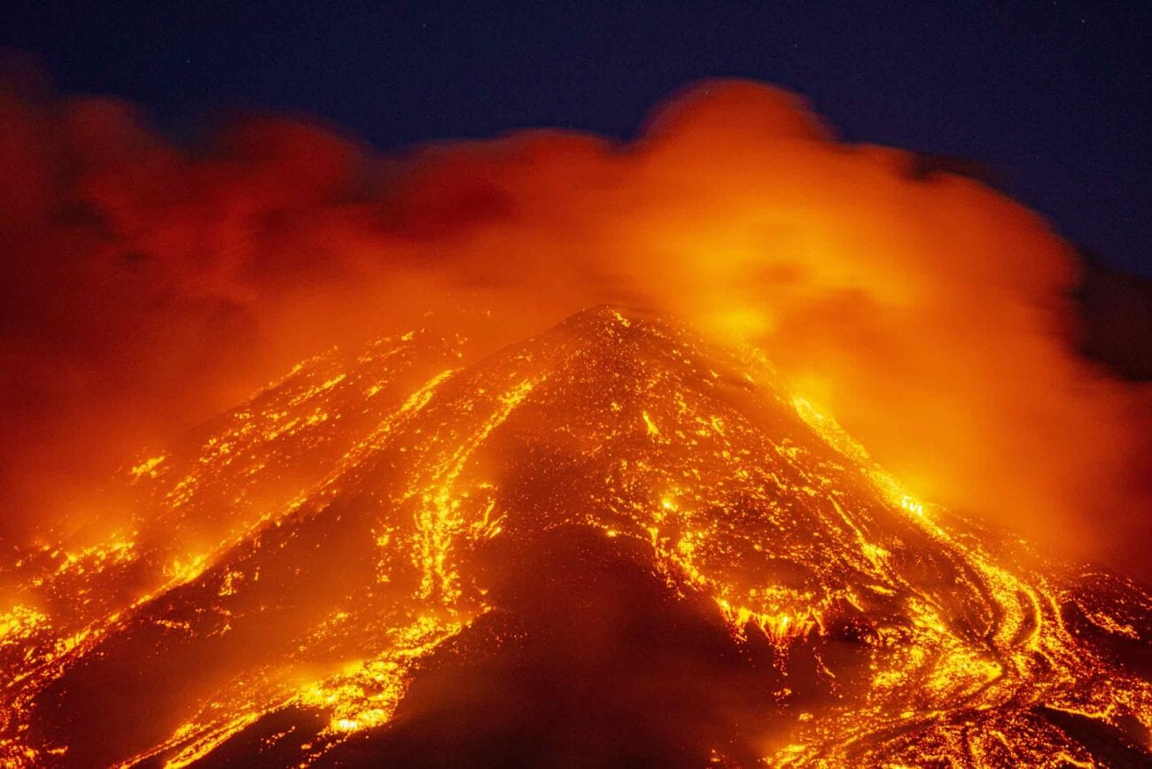 Mount Etna continues to put on a beautiful but dangerous show. Make sure you take cover as we dive into these reactions to the active volcano's eruptions.