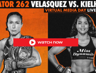 Bellator 262 is on, and Velasquez vs Kielhotz is the headlining action. Don't miss a single swing and stream the action in the ring from anywhere!
