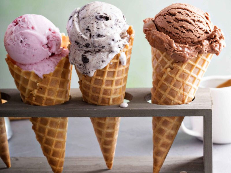 Neapolitan ice cream may have a few haters out there, but it's been around for ages. Let's trace back the history of this iconic Italian ice cream flavor!