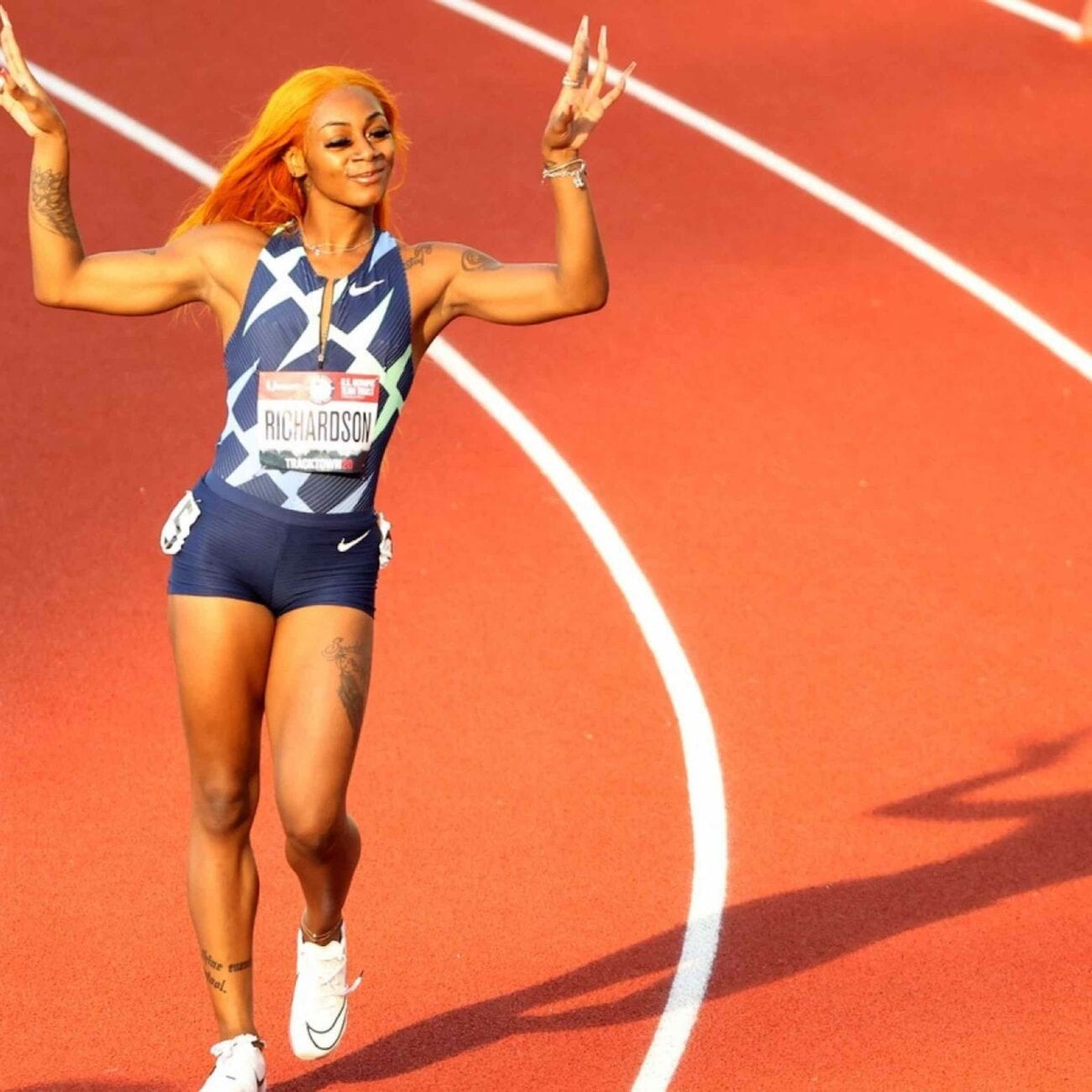 It looks like the finish line got a lot further for this 2021 Olympic runner. Get you running shoes and dive into why Sha'Carri Richardson was disqualified.